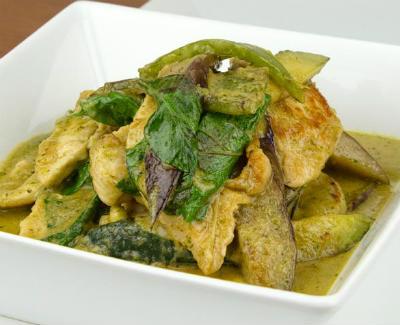 thai green chicken curry - Thai Green Chicken Curry