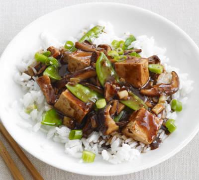 Thai Vegetables and Tofu Stir Fry