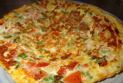 tomato omelette - Tomato Omelette