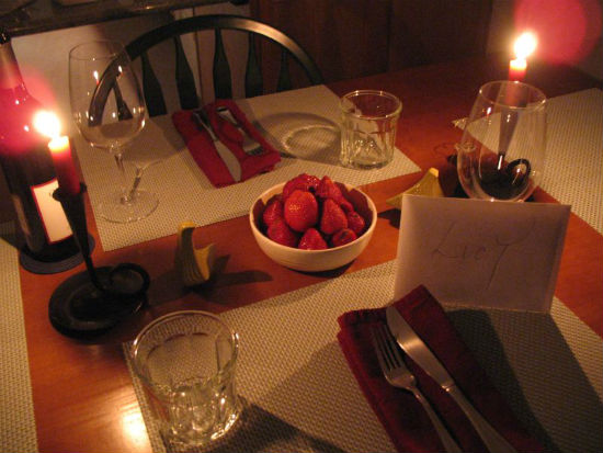 Valentine's Day Romantic Dinner