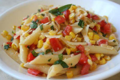Ingredients Pasta 1 Cup Capsicum 2 Sweet Corn Kernels 4 Boiled Pepper Powder Tsp Oil Salt As Per Taste