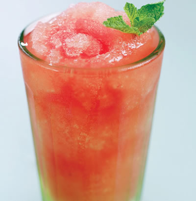watermelon mint granita - Watermelon and Mint Granita