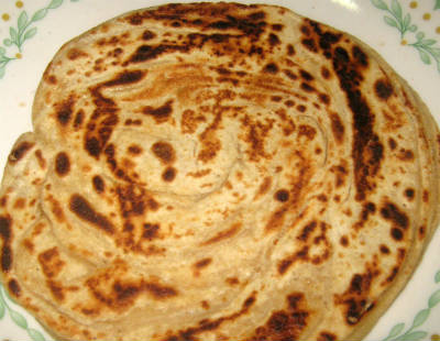 wheat parotta - Wheat Parotta