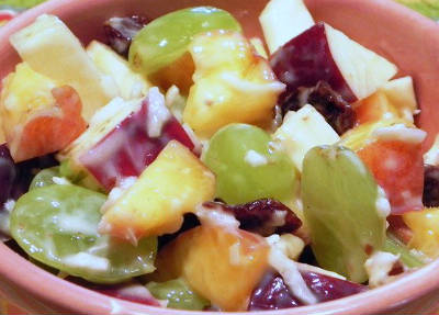 Yogurt Fruit Salad