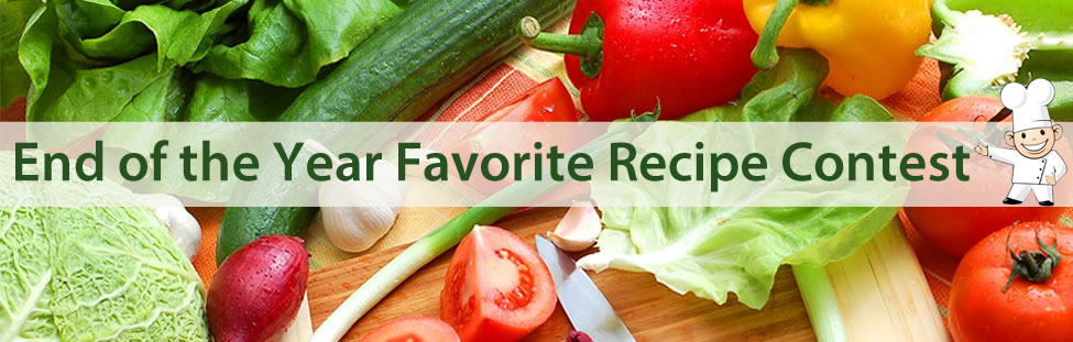 End of the Year Favorite Recipe Contest
