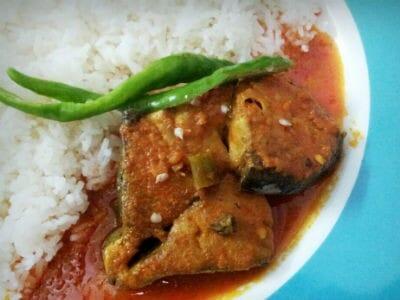 bengali fish curry - Bengali Fish Curry