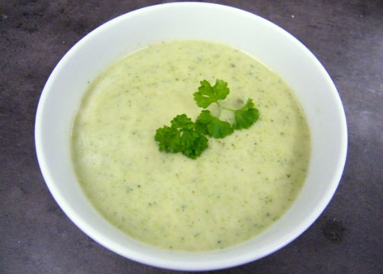 broccoli cauliflower soup - Cauliflower and Broccoli Soup