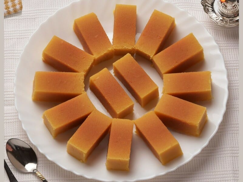 mysore pak - 23 Must Have Diwali Sweets and Snacks