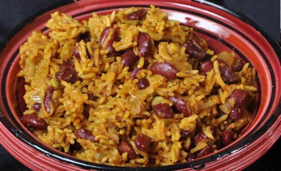 Rajma Biryani (Red Kidney Beans Biryani)