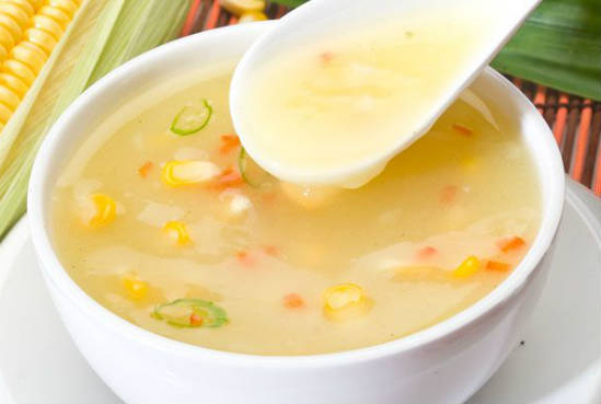 sweet corn soup - Sweet Corn Soup