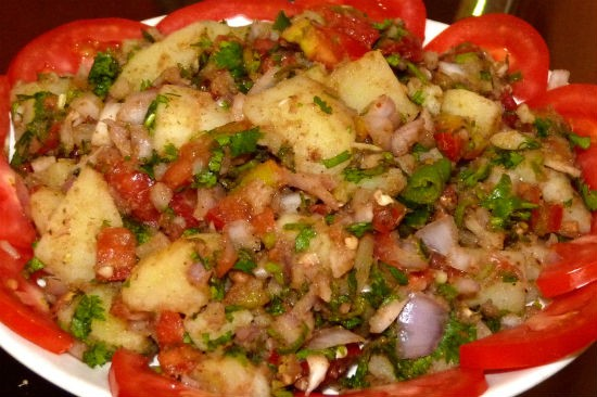 aloo chaat - Aloo Chaat