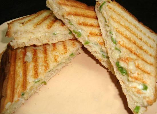 chilli cheese toast - Chilli Cheese Toast