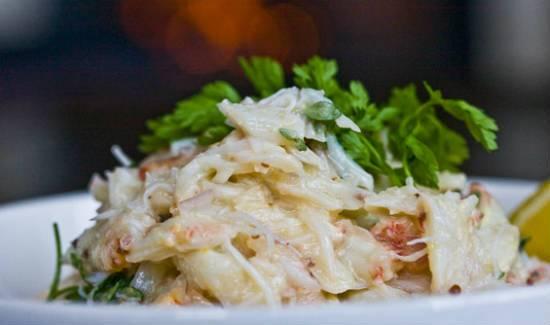 crab salad - Crab Salad