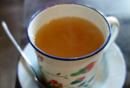 ginger tea - Homemade Ginger Tea