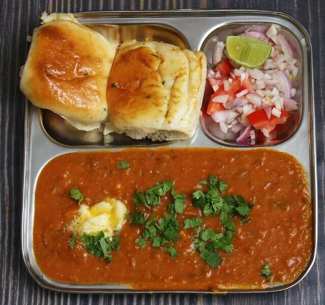 pav bhaji recipe - Pav Bhaji