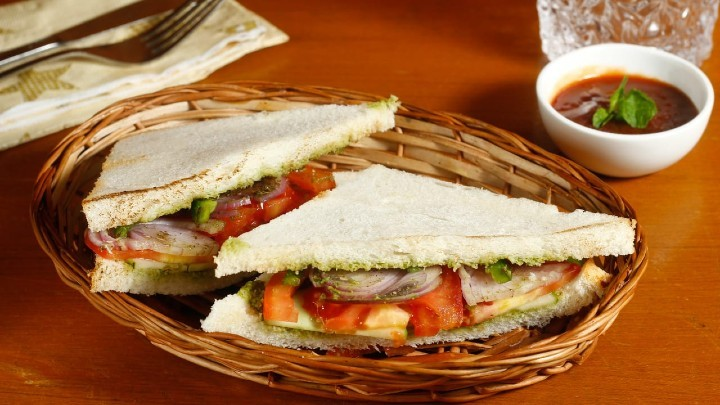 veg sandwich - Vegetable Sandwich
