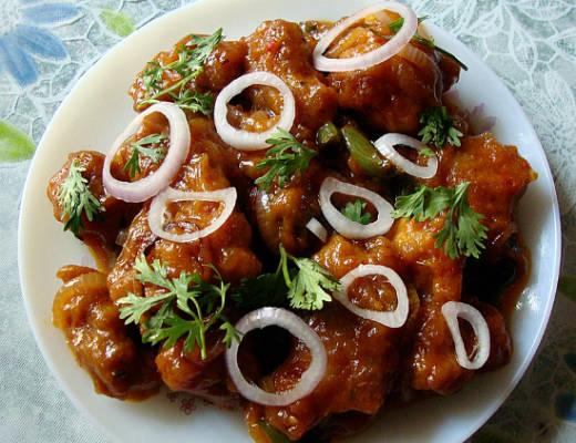 chicken manchurian - Chicken Manchurian