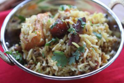 fish pulao - Fish Pulao