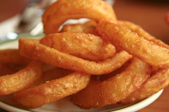 fried onion rings - Fried Onion Rings