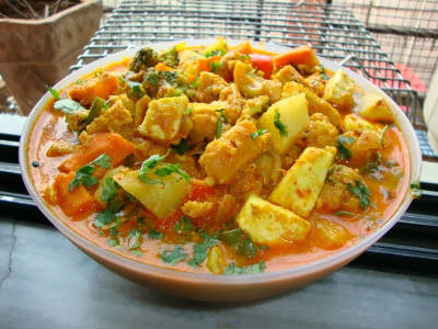 nawabi paneer curry - Nawabi Paneer Curry