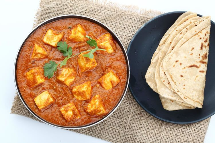 Paneer Butter Masala with Roti