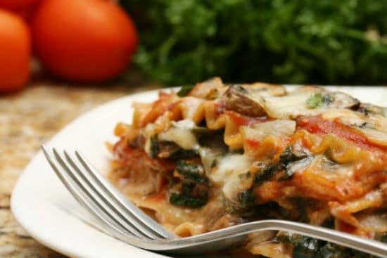 spinach lasagna - Spinach Lasagna