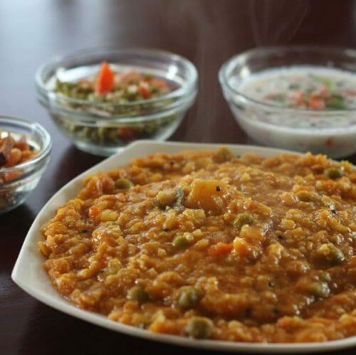 Bisibelebath (Sambar Rice)