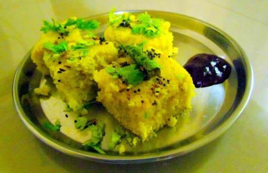 dhokla - Moong Dal Dhokla