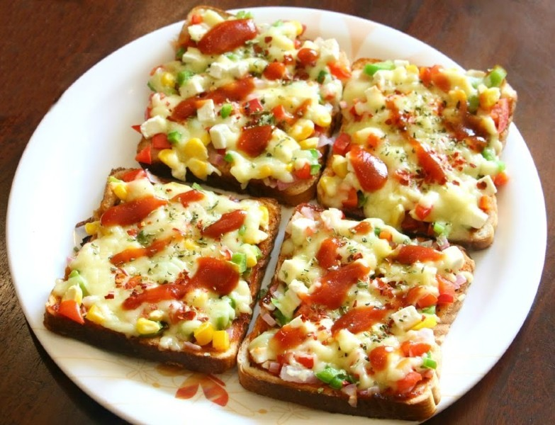 Bread Pizza Recipe Awesome Cuisine