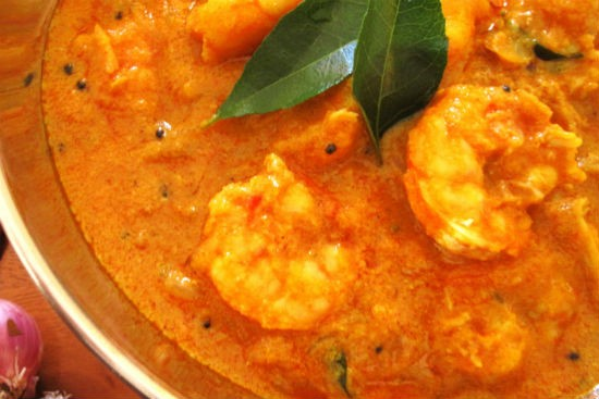 kerala prawn curry - Kerala Prawn Curry