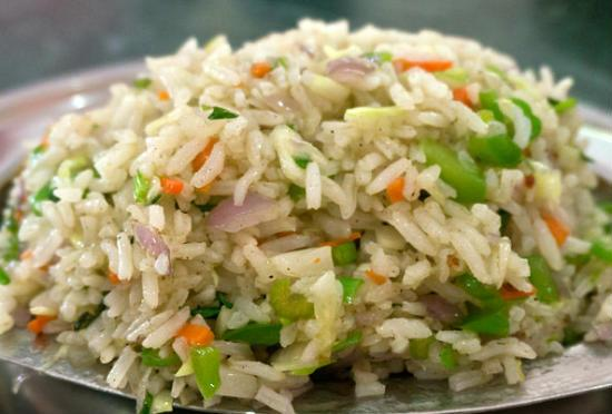 vegetable fried rice - Vegetable Fried Rice