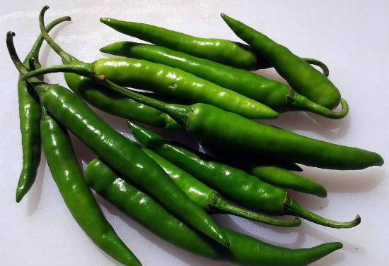 green chillies - Green Chilli Chutney