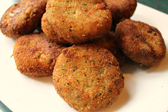 vegetable rice cutlet - Vegetable Rice Cutlet