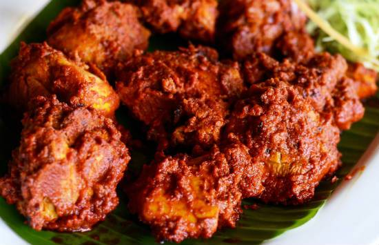 chicken ghee roast - Chicken Ghee Roast