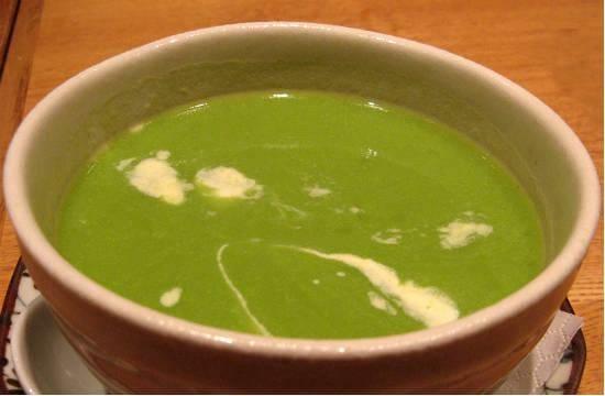 green peas soup - Green Peas Soup