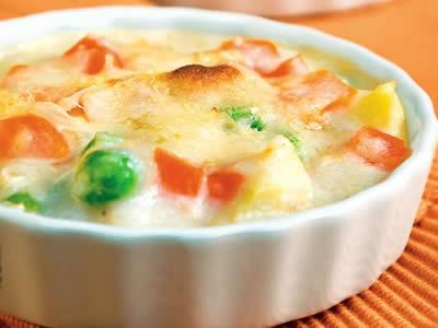 vegetable au gratin - Vegetable Au Gratin