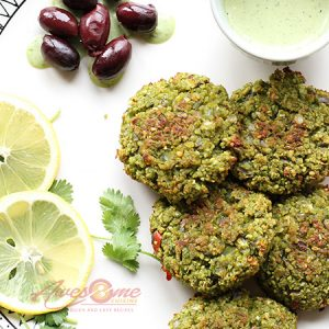 Green Peas Vadai