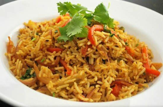 Capsicum Tomato Rice