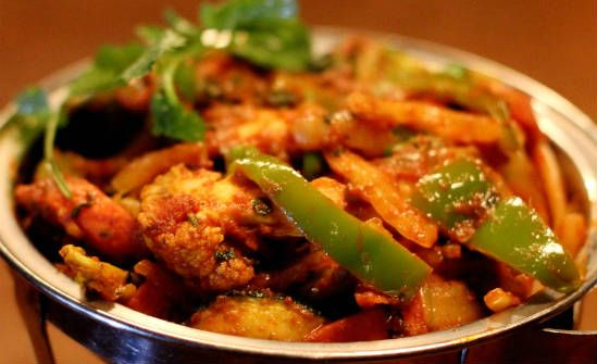 vegetable jalfrezi - Vegetable Jalfrezi
