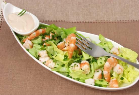 prawn cocktail salad - Prawn Cocktail Salad