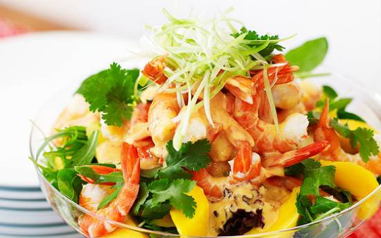 prawn mango salad - Prawn and Mango Salad