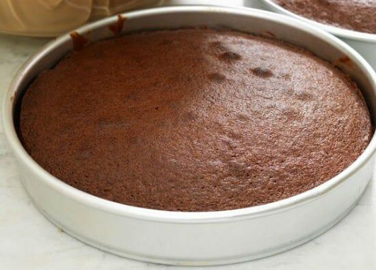 Basic Eggless Chocolate Cake