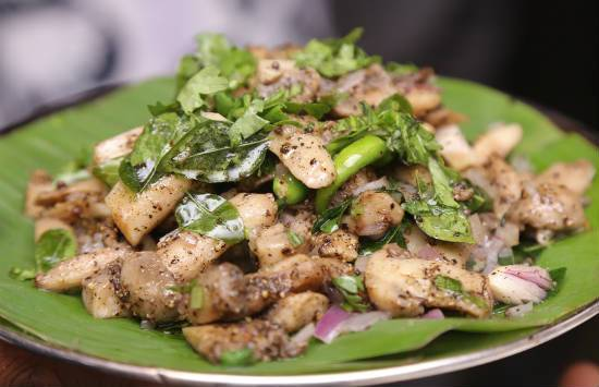 mushroom pepper fry - Mushroom Pepper Fry