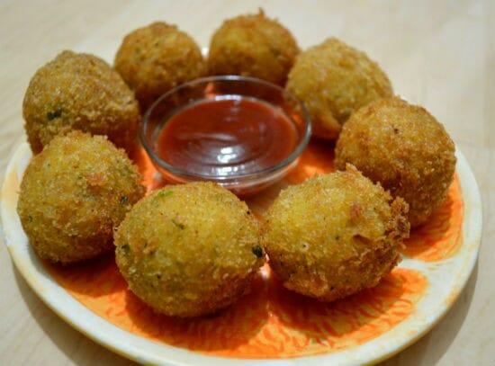 potato cheese balls - Potato Cheese Balls