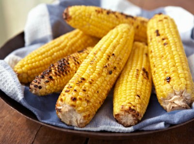 grilled corn on the cob - Spicy Corn on the Cob