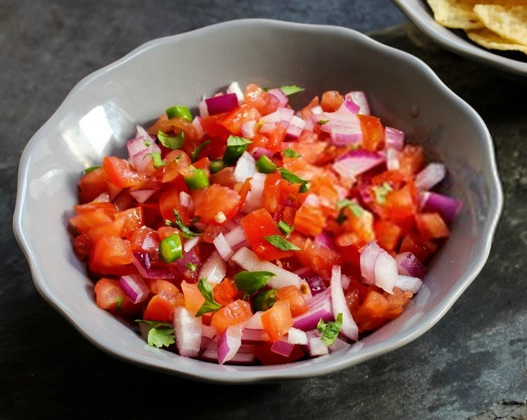 tomato salsa - Fresh Tomato Salsa