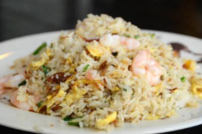 prawn fried rice - Prawn Fried Rice