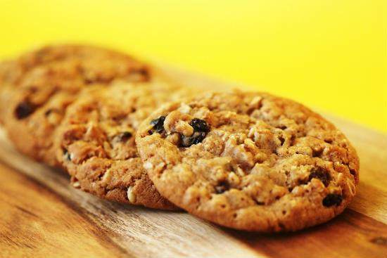 Oats Raisin Cookies