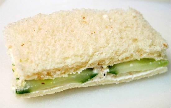 cucumber sandwich - Cucumber Sandwich
