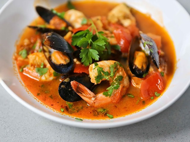 Seafood Soup - Spicy Seafood Soup